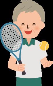 テニス 男性